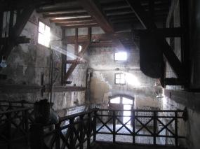 Baixos de la Casa Dalmases on es realitzarà la producció de cervesa